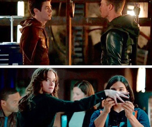 arrow, funny, and barry allen image