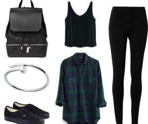 black, blue, and clothes image
