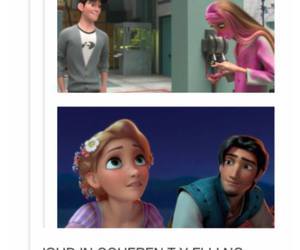 otp, rapunzel, and tangled image