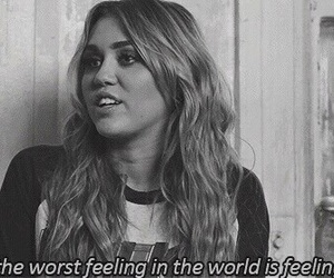 miley cyrus, alone, and quote image