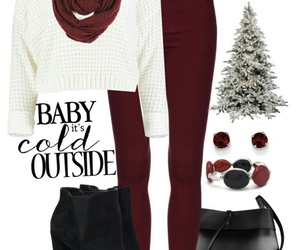 burgundy, christmas, and date image