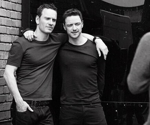 james mcavoy, michael fassbender, and mcfassy image
