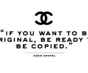 quote, chanel, and coco image