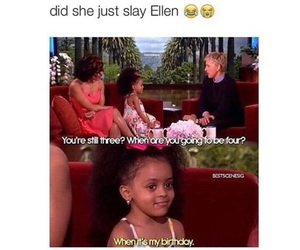funny, ellen, and birthday image