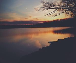 beautiful, nature, and sunset image