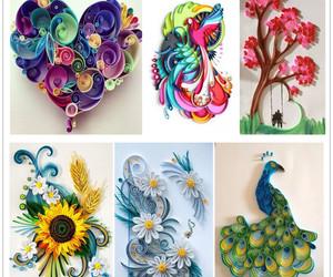 art, diy, and origami image