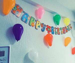 balloon, happybirthday, and party image