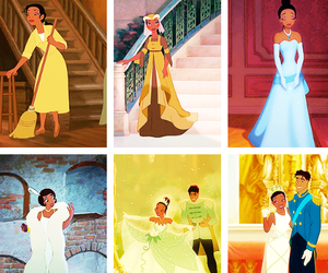 disney, disney princess, and gowns image