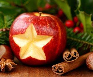 apple, christmas, and star image