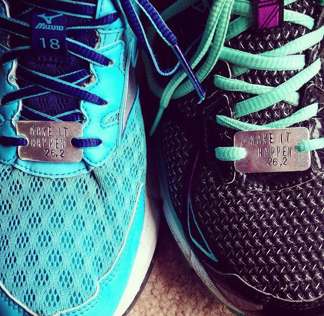 Shoelace Sneaker Charm for Runners You Got This