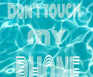 don't touch my phone image