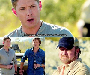 bobby, dean winchester, and family image
