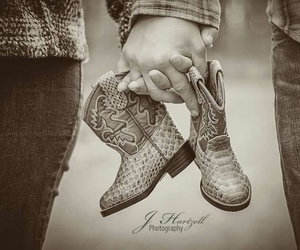 adorable, baby shoes, and country image