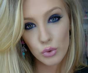make up, photo, and modal image