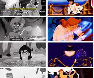 aladdin, belle, and cinderella image
