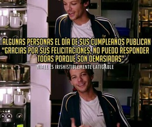 louis tomlinson, one direction, and frases image