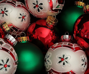 christmas, decoration, and ornaments image
