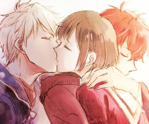 anime, kiss, and lindo image