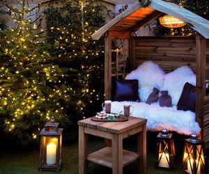 christmas, family, and house image