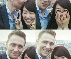 snsd, tiffany, and tom hiddleston image