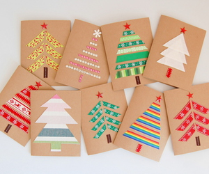 christmas, diy, and cards image