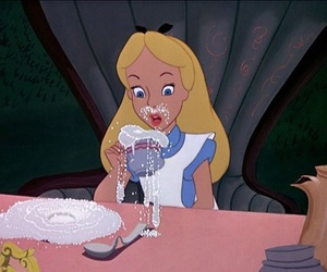alice in wonderland, alice, and cocaine image