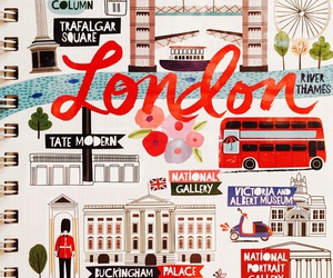 london, notebook, and paperchase image