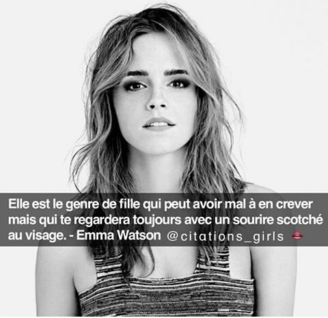 Citation Emma Watson Uploaded By Psycho On We Heart It