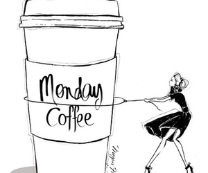 monday and coffee image