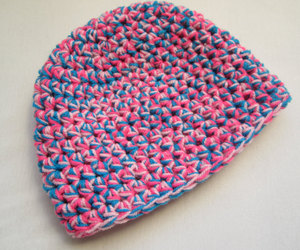 etsy, colorful beanie, and crochet hat image