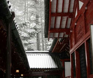 japan, beautiful, and winter image