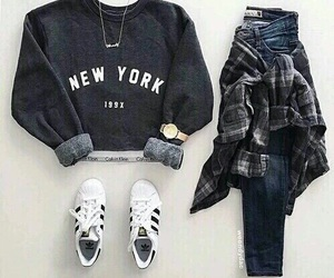 Calvin Klein, fashion, and new york image