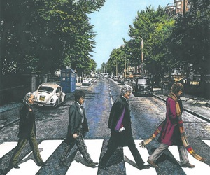 beatles and doctor who image
