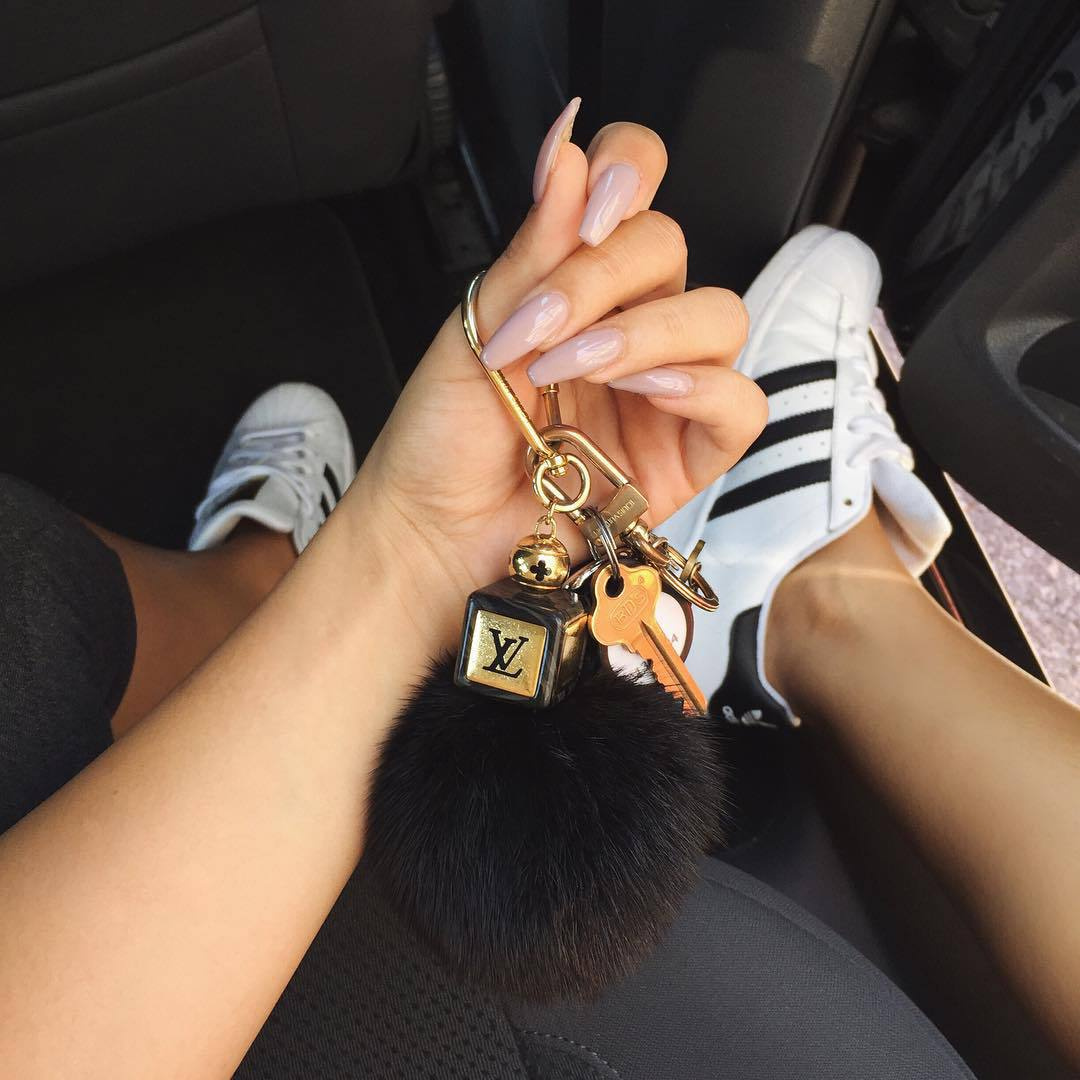 adidas, nails, and fashion image