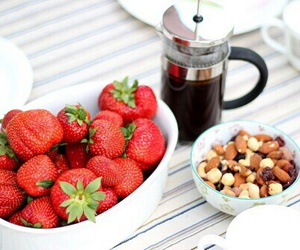 coffee, fruit, and delicious image