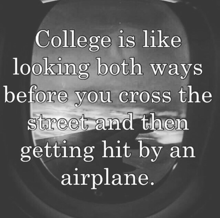 Image about college life in •quotes• by just.dezzy