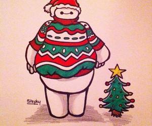 christmas, drawing, and princess image