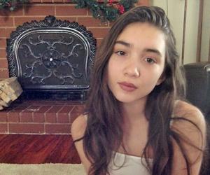 brunette, christmas, and girl image