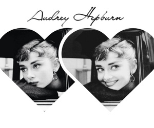 50s, actress, and audrey hepburn image