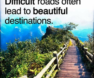 beautiful, road, and challenge image