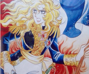 anime, japanese, and rose of versailles image