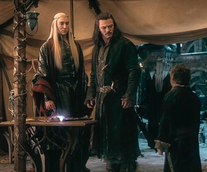 lee pace, bard, and thranduil image