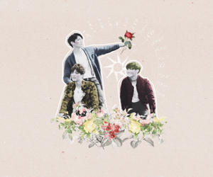 edit, flowers, and jin image