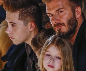 David Beckham, brooklyn beckham, and boy image