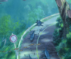 anime, fish, and studio ghibli image