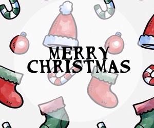 christmas, ornaments, and wallpaper image