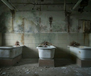 abandoned, light, and scary image