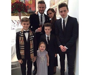 family, beckham, and David Beckham image