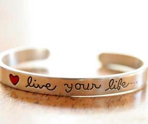 life, bracelet, and live image