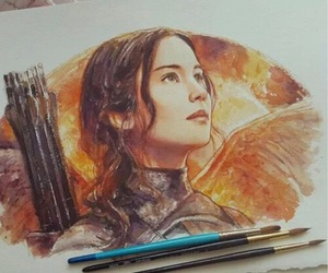 art and hunger games image